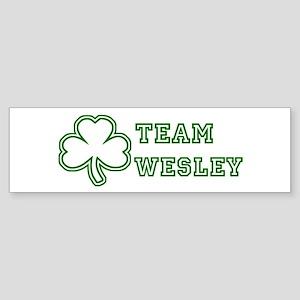 Team Wesley Bumper Sticker