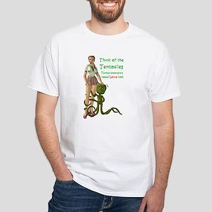 tentacle white T-Shirt
