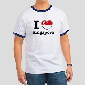 I love Singapore Ringer T