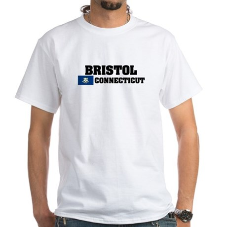 Bristol White T-Shirt