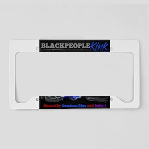 BlackPeopleKink.com License Plate Holder