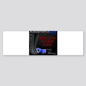 BlackPeopleKink.com Bumper Sticker