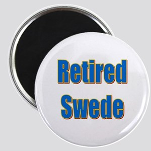 Retired Swede Magnet