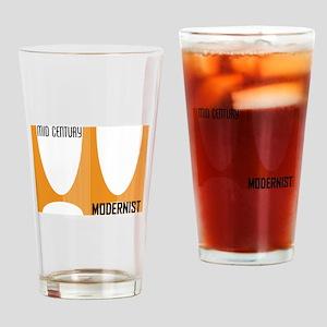 Brasilia Orange Drinking Glass