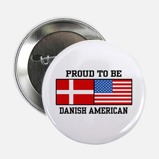 "Proud Danish American 2.25"" Button"