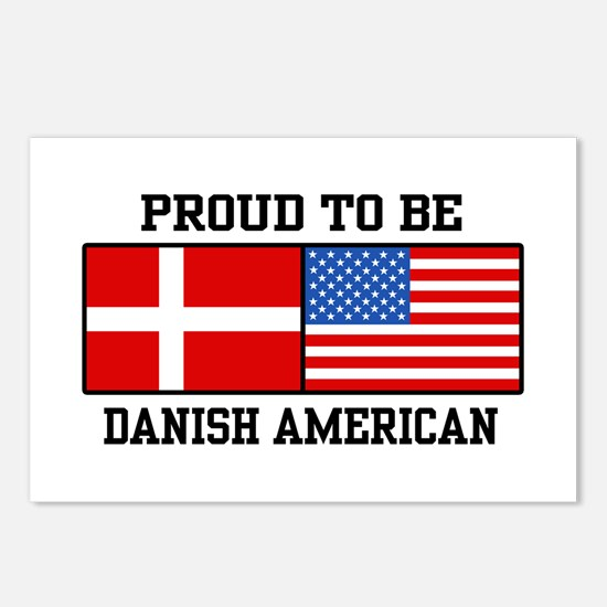 Proud Danish American Postcards (Package of 8)