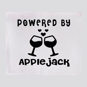Powered By Appiejack Throw Blanket