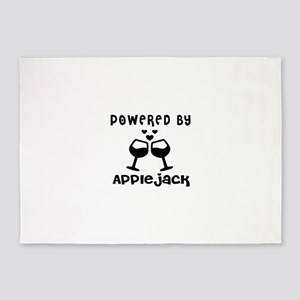 Powered By Appiejack 5'x7'Area Rug