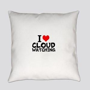 I Love Cloud Watching Everyday Pillow