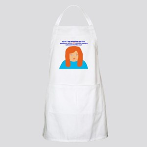 65th birthday bite BBQ Apron
