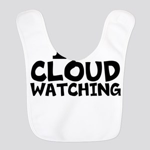 I Love Cloud Watching Polyester Baby Bib