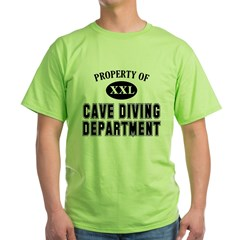https://i3.cpcache.com/product/228504225/cave_diving_department_tshirt.jpg?color=Green&height=240&width=240