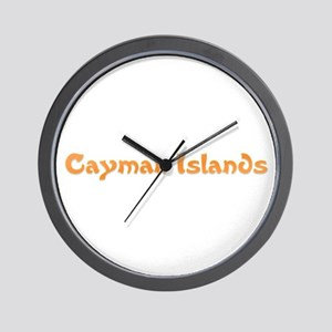 Cayman Islands Wall Clock
