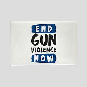 End Gun Violence Now Rectangle Magnet
