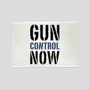 Gun Control Now Rectangle Magnet