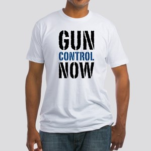 Gun Control Now Fitted T-Shirt