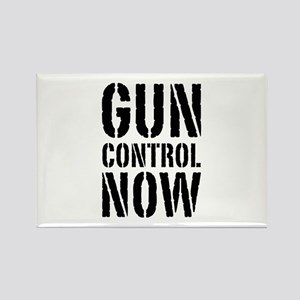 Gun Control Now Rectangle Magnet