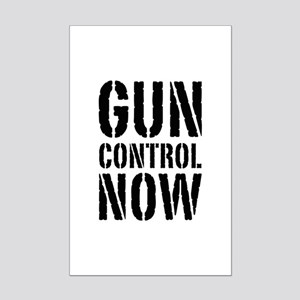 Gun Control Now Mini Poster Print