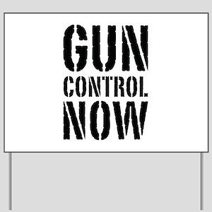 Gun Control Now Yard Sign