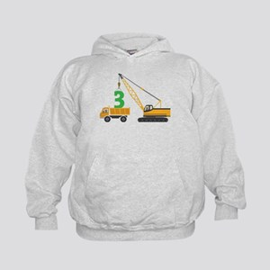 3rd Birthday Construction Sweatshirt