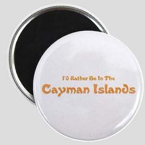 I'd Rather Be...Caymans Magnet