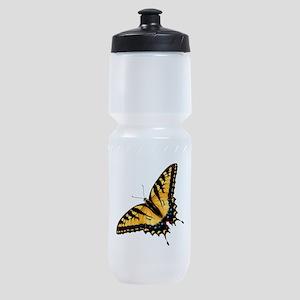 Tiger Swallowtail Butterfly Sports Bottle