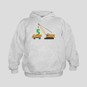 5th Birthday Construction Sweatshirt