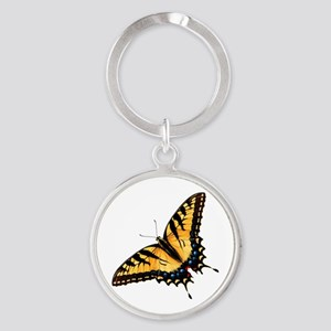 Tiger Swallowtail Butterfly Keychains