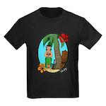Hula Baby Kids Dark T-Shirt