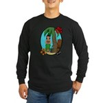 Hula Baby Long Sleeve Dark T-Shirt