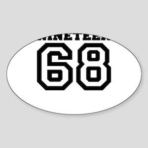 1968 Sticker