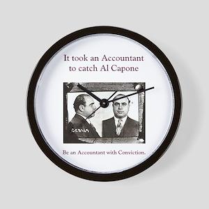 Al Capone Accountant Wall Clock
