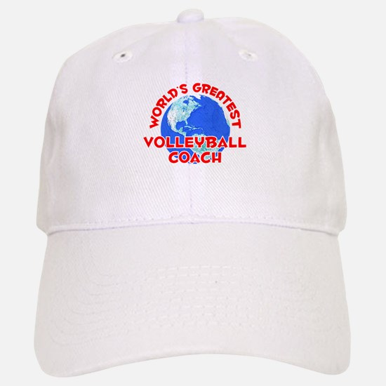 World's Greatest Volle.. (F) Baseball Baseball Cap