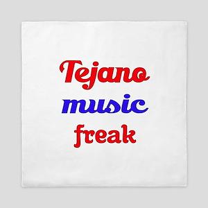 Tejano Music Freak Queen Duvet