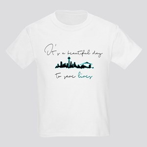 Seattle skyline Grey's T-Shirt