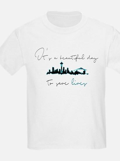 Seattle skyline Grey's T-Shirt