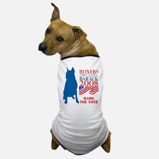 Funny Bark obama Dog T-Shirt