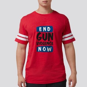 End Gun Violence Now White T-Shirt