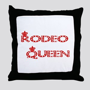 Rodeo Queen Throw Pillow