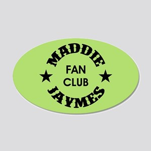 MADDIE JAYMES 20x12 Oval Wall Decal