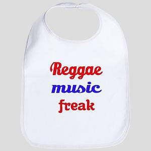 Reggae Music Freak Cotton Baby Bib