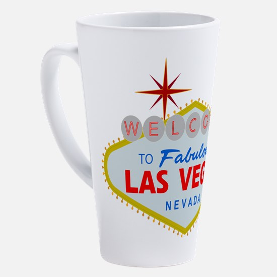 Funny Las vegas 17 oz Latte Mug