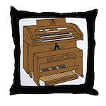 Masonic Lodge Musician Throw Pillow