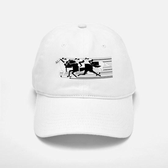 HORSE RACING! Baseball Baseball Cap