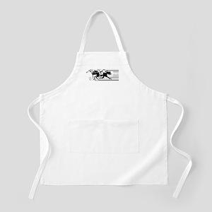 HORSE RACING! BBQ Apron