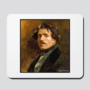 "Faces ""Delacroix"" Mousepad"