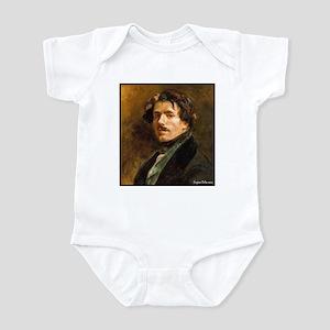 """Faces """"Delacroix"""" Infant Bodysuit"""