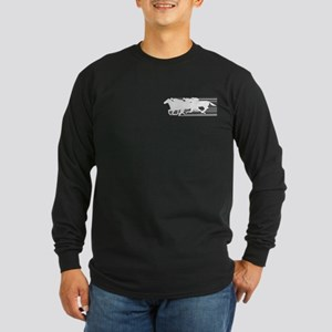 HORSE RACING! Long Sleeve Dark T-Shirt