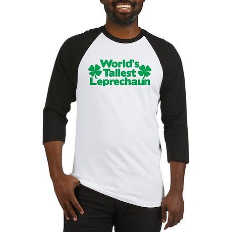 World's Tallest Leprechaun Baseball Jersey