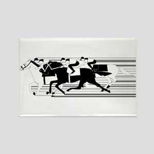 HORSE RACING! Rectangle Magnet